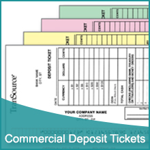 Commercial Deposit Tickets